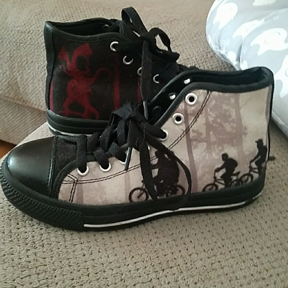 kids stranger things shoes
